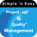 Project, HR (In-App) and Quality Management (In-App) by WAGmob