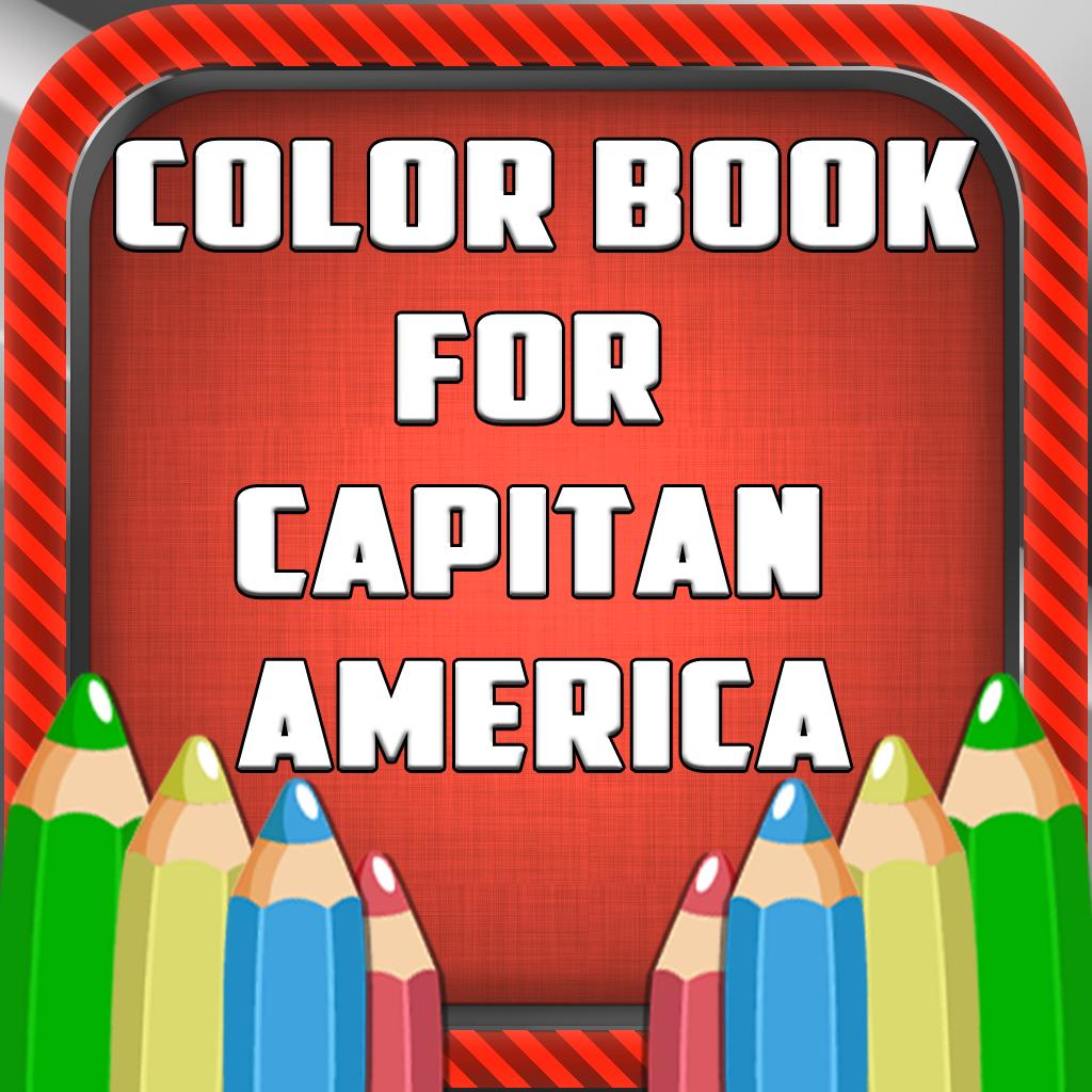 Libro para colorear del Capitan America 2 Por OnRadio Stream